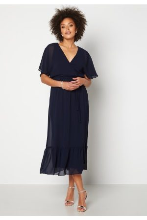 Happy Holly Linnea maxi dress Dark blue 36/38