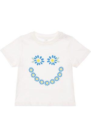 Stella McCartney Daisy Print Organic Cotton T-shirt
