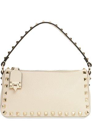 VALENTINO GARAVANI Naiset Olkalaukut - Small Rockstud Leather Shoulder Bag