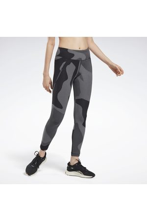 Reebok Naiset Leggingsit - Lux Jacquard Leggings