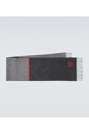 Loewe Miehet Huivit - Window wool and cashmere scarf