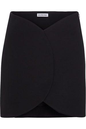 Balenciaga Asymmetric miniskirt