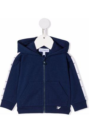 Emporio Armani Takit - Hooded zip-up track jacket