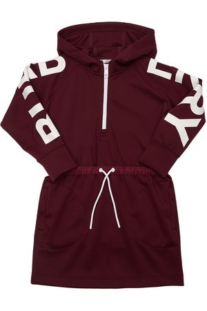 Burberry Hooded Cotton Dress