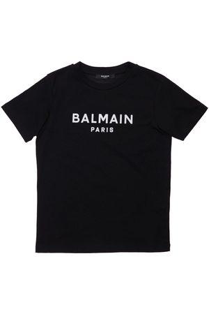 Balmain Tytöt T-paidat - Organic Cotton T-shirt