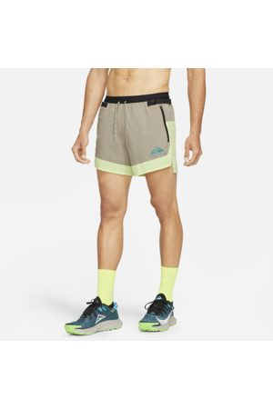 Nike Dri-FIT Flex Stride Men's Trail Shorts - Yellow