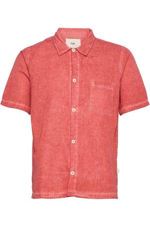 Folk Seoul Shirt Lyhythihainen Paita Vaaleanpunainen
