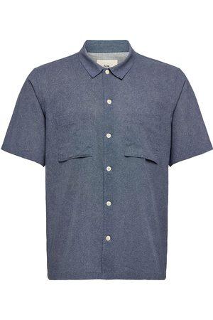Folk Raft Shirt Lyhythihainen Paita Sininen