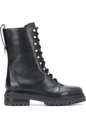 Sergio Rossi Naiset Nauhalliset saappaat - Lace-up combat boots