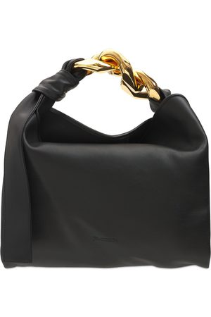 J.W.Anderson Small Leather Chain Hobo Bag