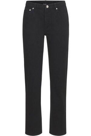 Burberry Naiset Suorat - Feela Cotton Denim Straight Jeans