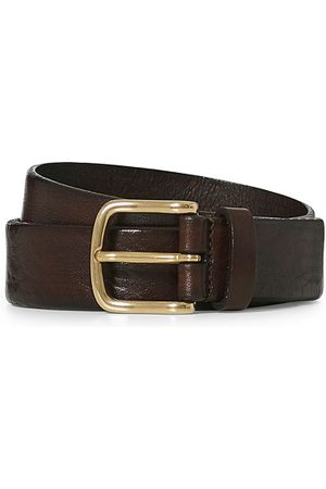 Anderson's Leather Belt 3 cm Dark Brown