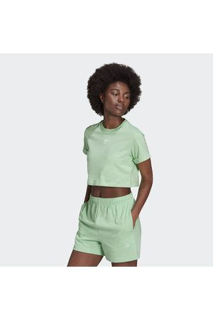 adidas Naiset Paidat - Adicolor Essentials Cropped Tee