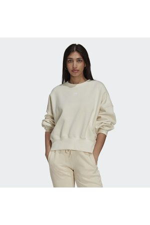 adidas Naiset Collegepaidat - Adicolor Essentials Fleece Sweatshirt