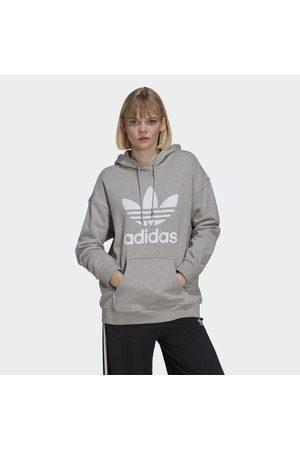adidas Naiset Hupparit - Adicolor Trefoil Hoodie