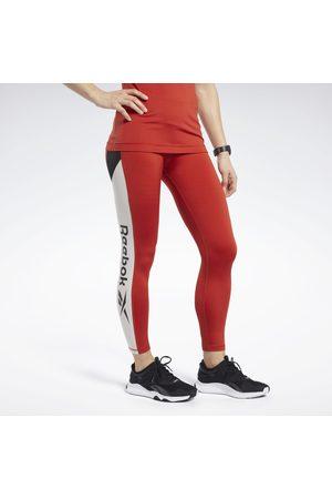 Reebok Naiset Leggingsit - Workout Ready Logo Tights
