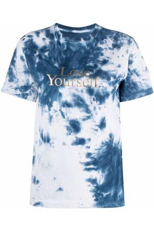Paco rabanne Tie-dye print T-shirt