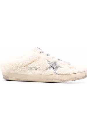 Golden Goose Naiset Tohvelit - Superstar distressed slippers