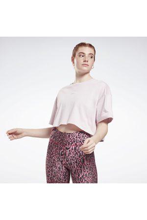 Reebok Naiset T-paidat - Studio Cropped T-Shirt