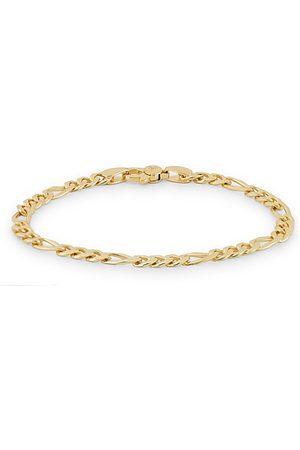 TOM WOOD Figaro Thick Bracelet Gold