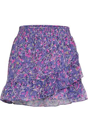 French Connection Naiset Minihameet - Flores Crinkle Mini Skirt Lyhyt Hame Vaaleanpunainen