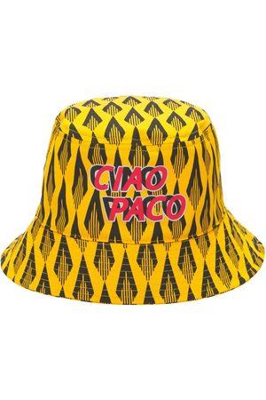 Paco rabanne Naiset Hatut - Batik Ciao Paco Print Cotton Bucket Hat