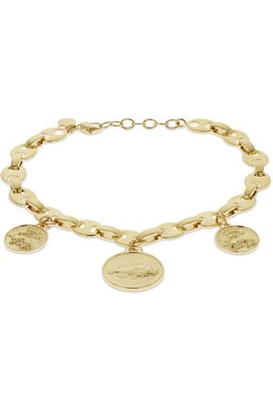 PACO RABANNE Naiset Bodyt - Eight Chain Anklet W/ Medals