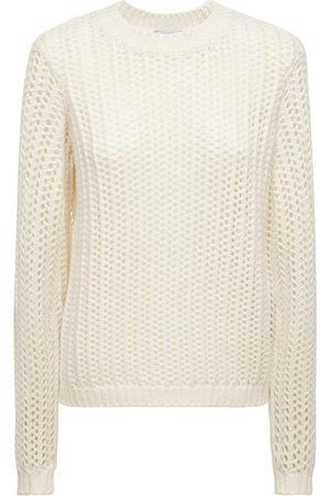GABRIELA HEARST Cashmere Weave Knit Crewneck Sweater