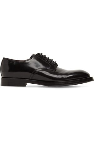 Dolce & Gabbana Michelangelo Leather Lace-up Derby Shoes