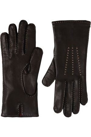 Loro Piana Janis Leather Gloves
