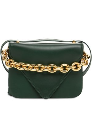 Bottega Veneta Mount Small Leather Shoulder Bag