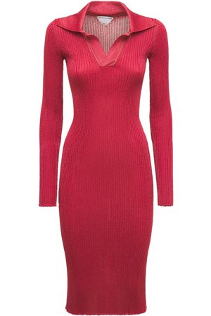 Bottega Veneta Light Weight Wool Lurex Knit Dress
