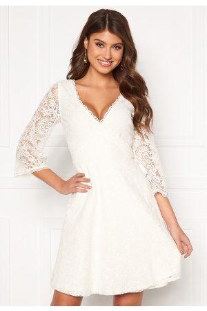 Chiara Forthi Naiset Juhlamekot - Heaven wrap lace dress White 32