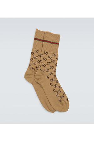 Gucci Miehet Sukat - GG logo socks