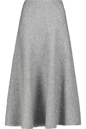 BROCK COLLECTION High-rise wool-blend midi skirt