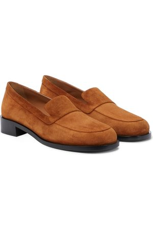 The Row Naiset Loaferit - Garcon suede loafers