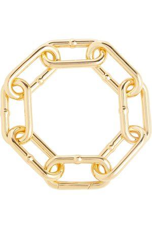 Bottega Veneta Gold-tone silver chain bracelet