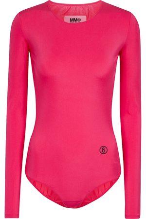 MM6 MAISON MARGIELA Stretch-jersey bodysuit