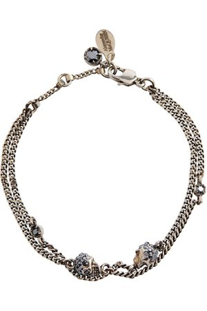 Alexander McQueen Embellished chain bracelet