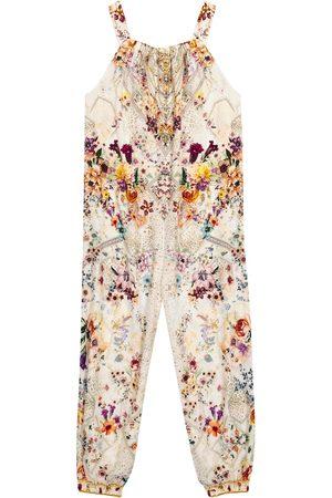 Camilla Tytöt Printtimekot - Embellished floral jumpsuit