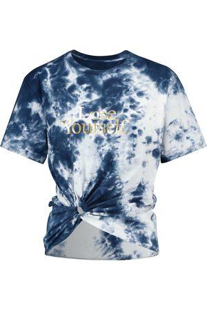 Paco rabanne Naiset T-paidat - Tie-dye cotton T-shirt