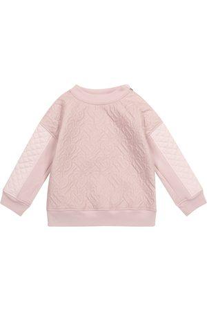 Burberry Tytöt Collegepaidat - Monogram quilted sweatshirt