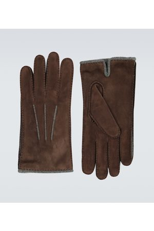 Loro Piana Suede and baby cashmere gloves