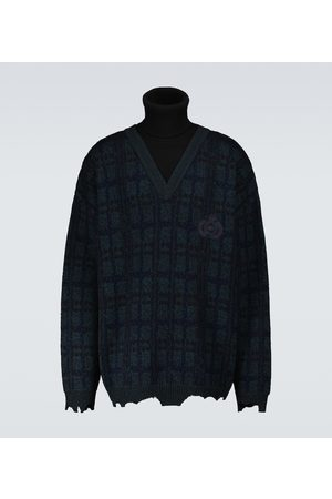 Balenciaga Layered turtleneck sweater