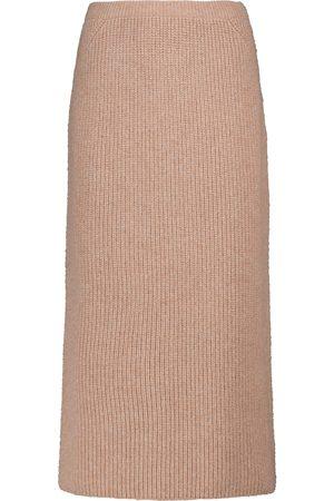 Loro Piana Naiset Midihameet - Gonna Davenport ribbed-knit midi skirt