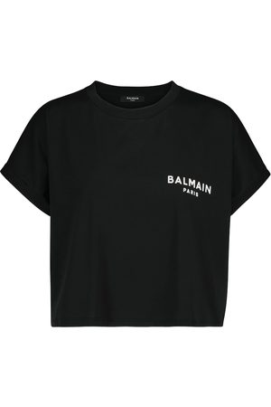 Balmain Logo cotton jersey T-shirt