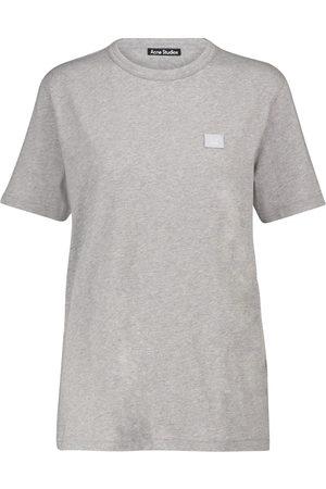 Acne Studios Naiset T-paidat - Face cotton T-shirt