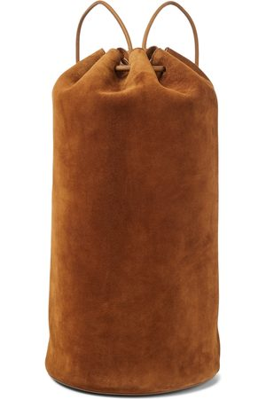 The Row Massimo suede backpack