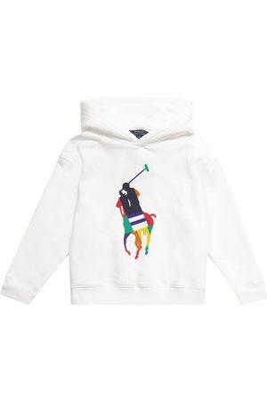 Ralph Lauren Tytöt Collegepaidat - Logo cotton-blend hoodie