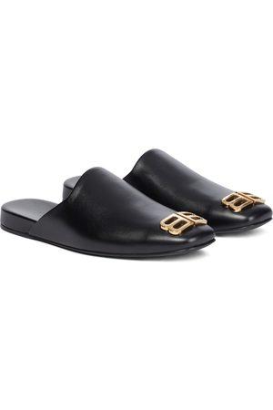 Balenciaga Naiset Tohvelit - Cosy BB leather slippers